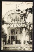 Contrôle des entrées au Grand casino, vers 1908 (coll. Cousseau)