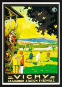 Affiche de Raymond Soubie, vers 1925  (repro. carte postale, coll. Cousseau)